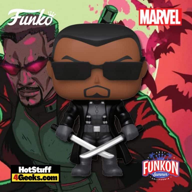 Funko Pop! Marvel: Blade Funko Pop! Vinyl Figure Virtual FunKon 2021 - Walgreens Shared Exclusive