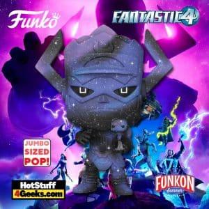 Funko Pop! Marvel: Fantastic Four - Galactus with Silver Surfer (Blue) Jumbo Sized Funko Pop! Vinyl Figure Virtual FunKon 2021 - Funko Shop Shared Exclusive