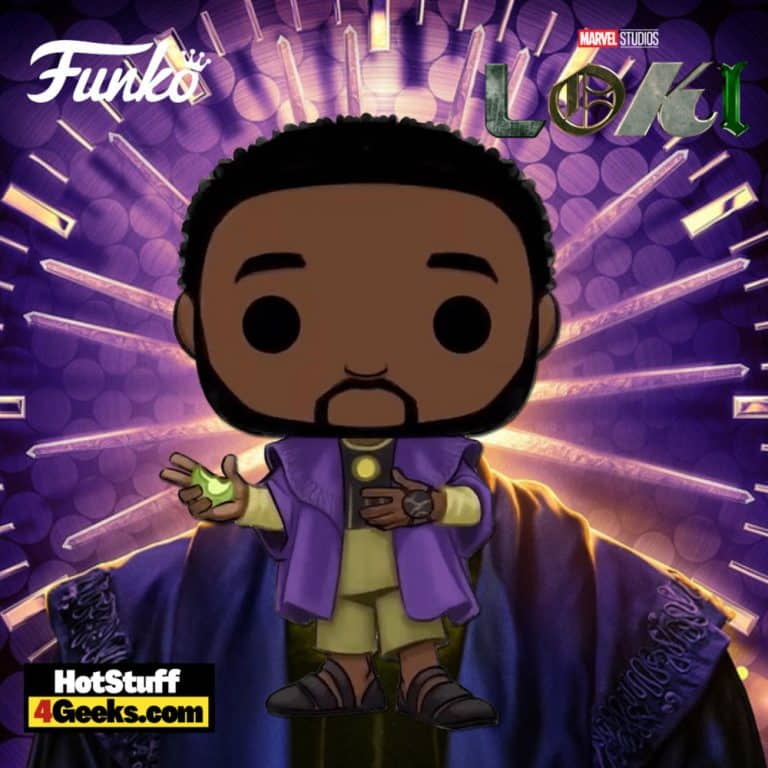 Funko Pop! Marvel: Loki - Kang The Conquerer (The One Who Remains) Eating Apple Funko Pop! Vinyl Figure
