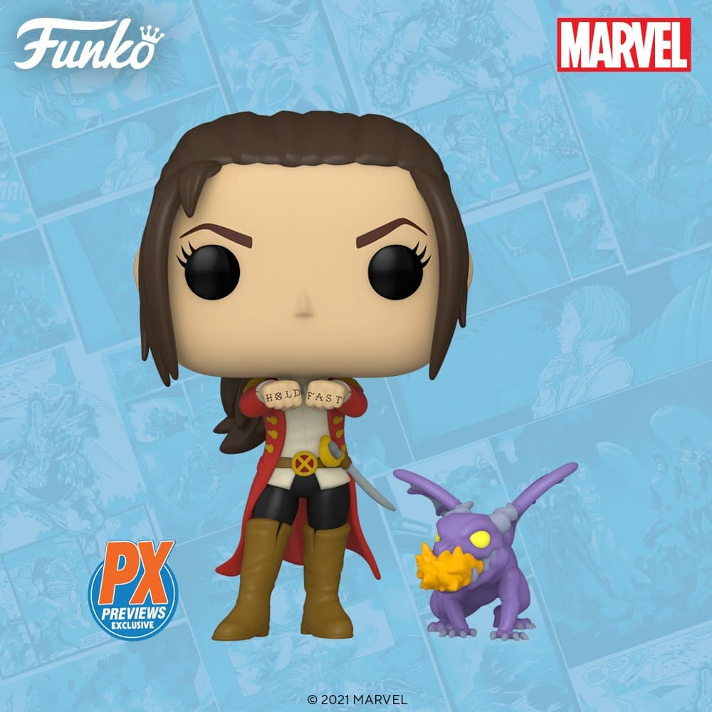 Funko Pop! Marvel X-Men: Kate Pryde with Lockheed Funko Pop! Vinyl Figure and Buddy - PX Previews Exclusive