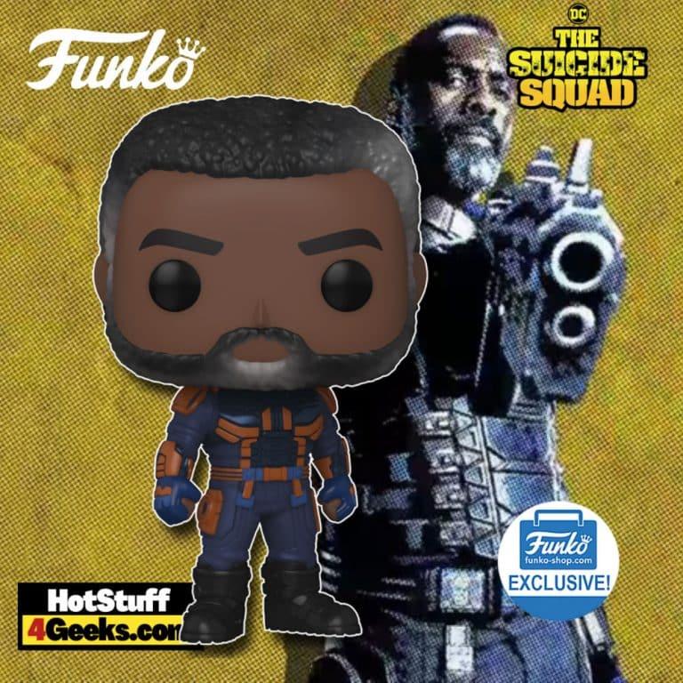 Funko Pop! Movies: The Suicide Squad: Bloodsport Unmasked Funko Pop! Vinyl Figure - Funko Shop Exclusive