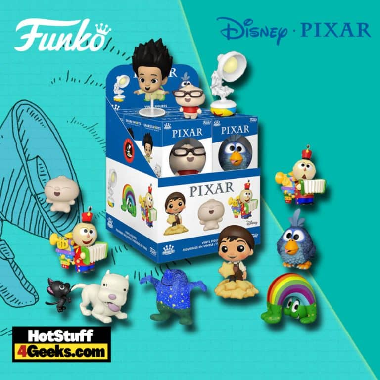 Funko Pop! Mystery Minis Pixar Shorts Mini Vinyl Figures