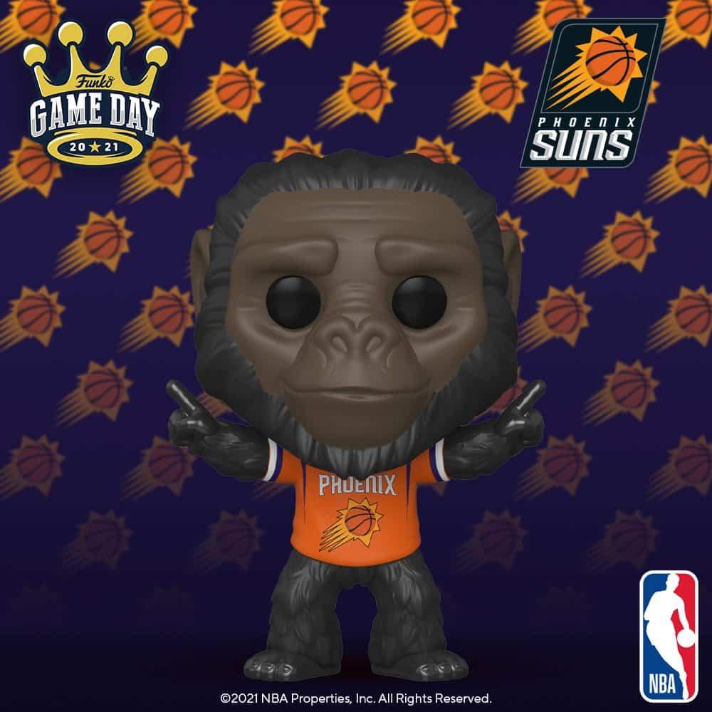 Funko Pop! NBA Mascots Phoenix Suns - Go-Rilla the Gorilla Funko Pop! Vinyl Figure
