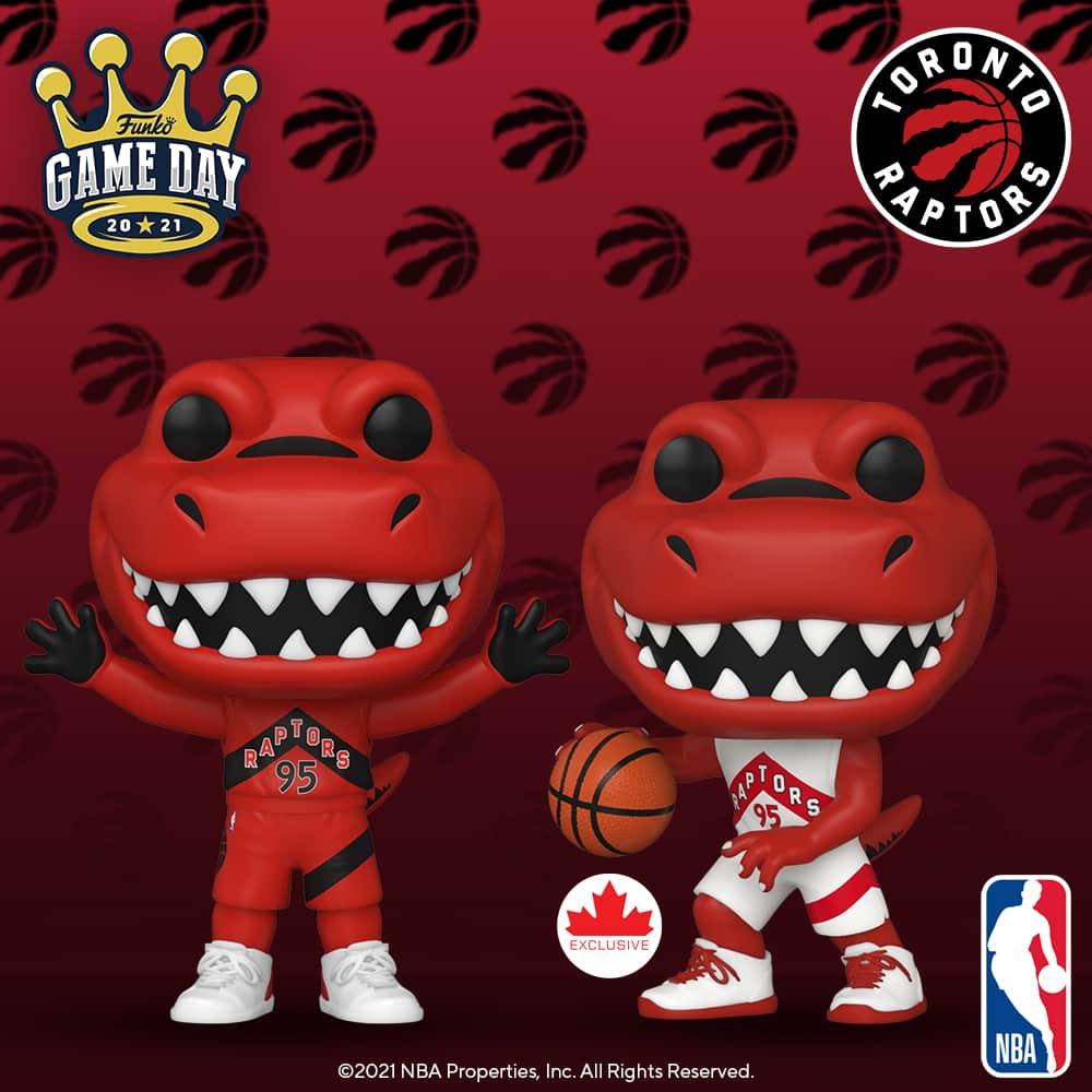 Funko Pop! NBA Mascots Toronto Raptors - The Raptor Funko Pop! Vinyl Figure
