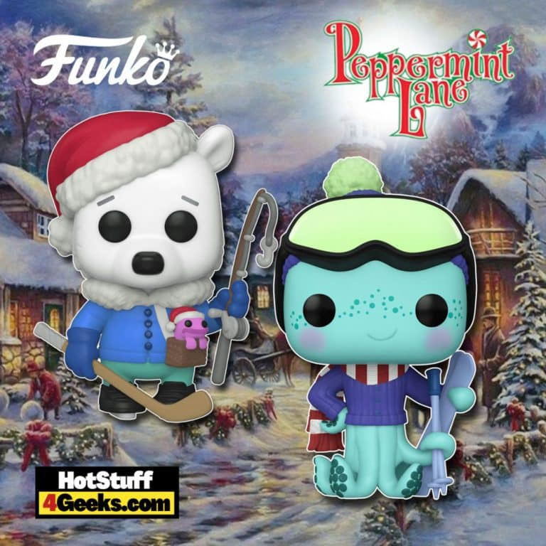 Funko Pop! Peppermint Lane: Dauber Higgins and Bjorn Cranmore Funko Pop! Vinyl Figures and Santa Claus Something Wild Funko Pop! Card Game