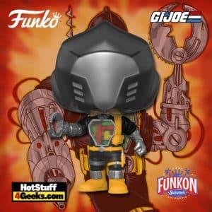 Funko Pop! Retro Toys: G.I. Joe - Cobra B.A.T Funko Pop! Vinyl Figure Virtual FunKon 2021 - Walmart Shared Exclusive
