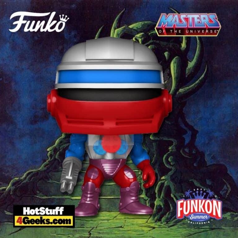Funko Pop! Retro Toys: Masters of The Universe: Roboto Funko Pop! Vinyl Figure Virtual FunKon 2021 - Toy Tokyo Shared Exclusive