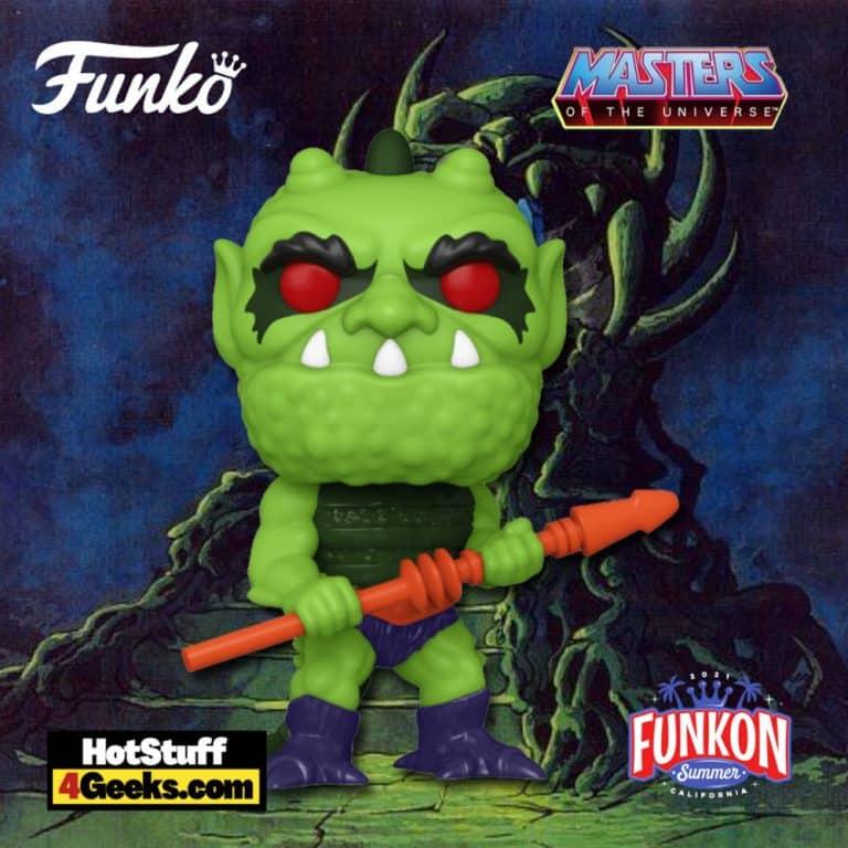 Funko Pop! Retro Toys: Masters of The Universe: Whiplash Funko Pop! Vinyl Figure Virtual FunKon 2021 - Toy Tokyo Shared Exclusive