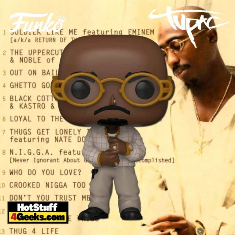 Funko Pop! Rocks: Tupac - Loyal to The Game Funko Pop! Album Vinyl Figure