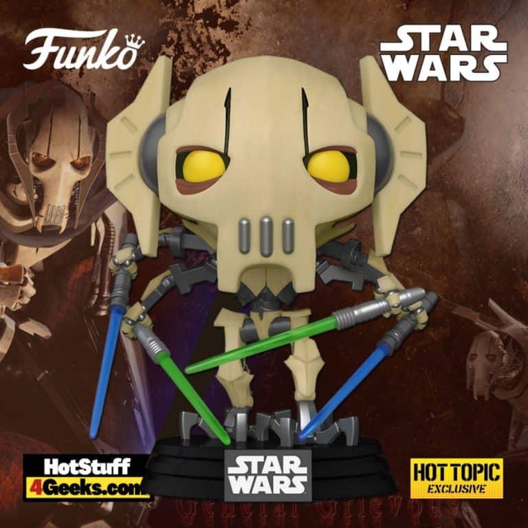 Funko Pop! Star Wars - General Grievous Funko Pop! Vinyl Figure - Hot Topic Exclusive