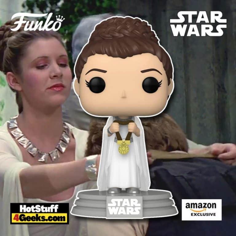 Funko Pop! Star Wars: A New Hope - Princess Leia (Yavin) Funko Pop! Vinyl Figure - Amazon Exclusive