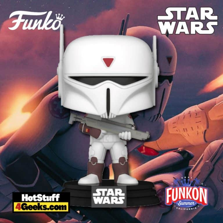 Funko Pop! Funko Pop! Star Wars Rebels: Imperial Super Commando Funko Pop! Vinyl Figure Virtual FunKon 2021 - GameStop Shared Exclusive