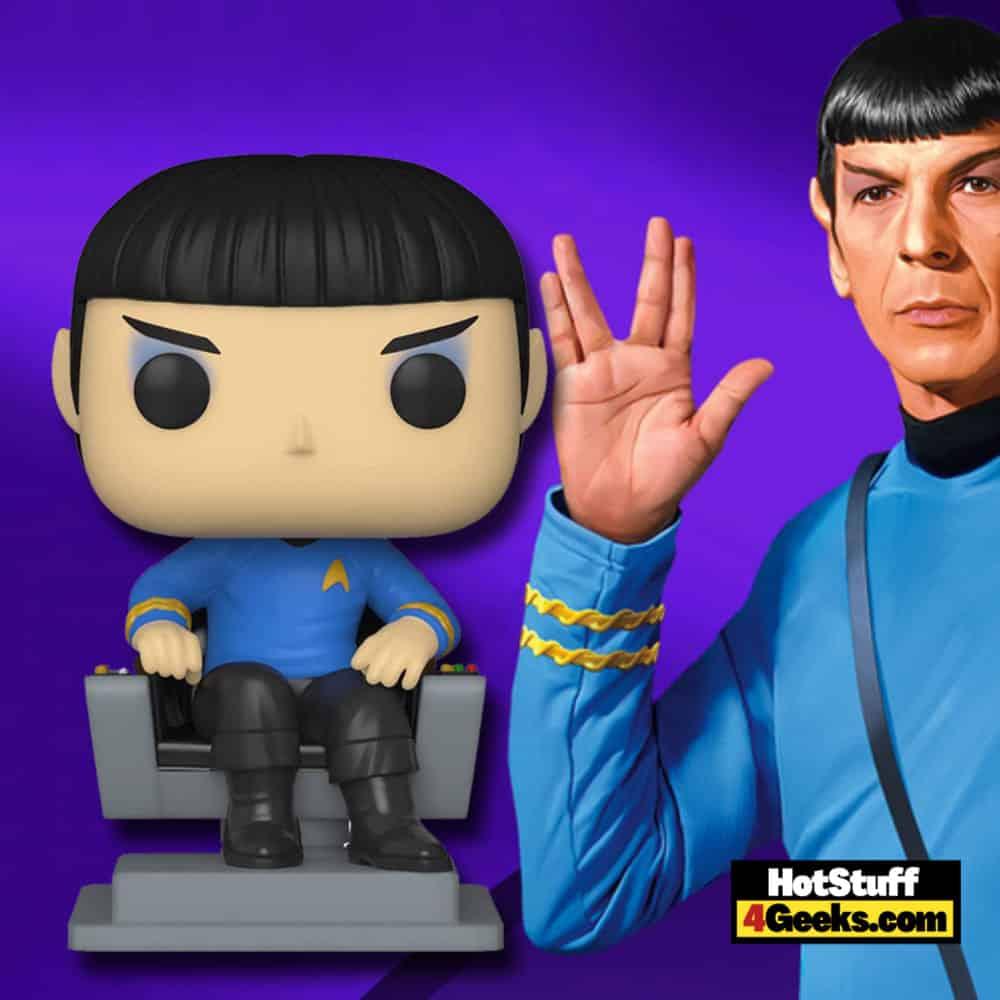Funko Pop! Television: Pops with Purpose Youth Trust - Original Star Trek: Spock in Chair Funko Pop! Vinyl Figure