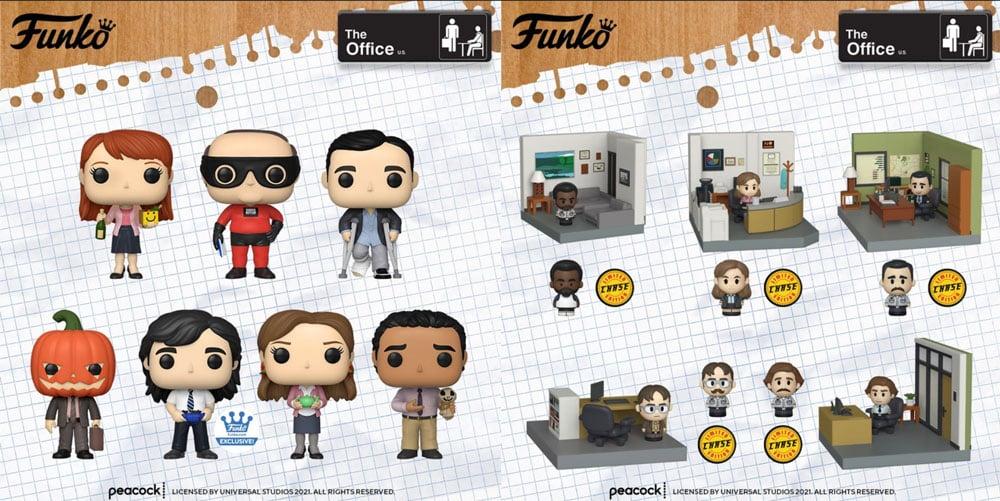 Funko Pop! Television -The Office Pops and Mini Momen
