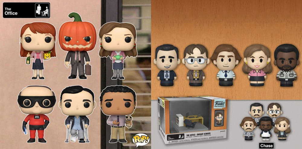 Funko Pop! Television -The Office Pops and Mini Moments