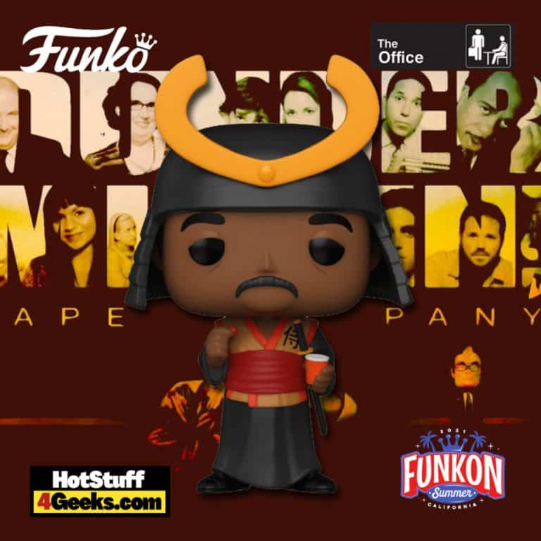 Funko Pop! Television: The Office - Stanley Hudson as Samurai Warrior Funko Pop! Vinyl Figure Virtual FunKon 2021 - GameStop Exclusive