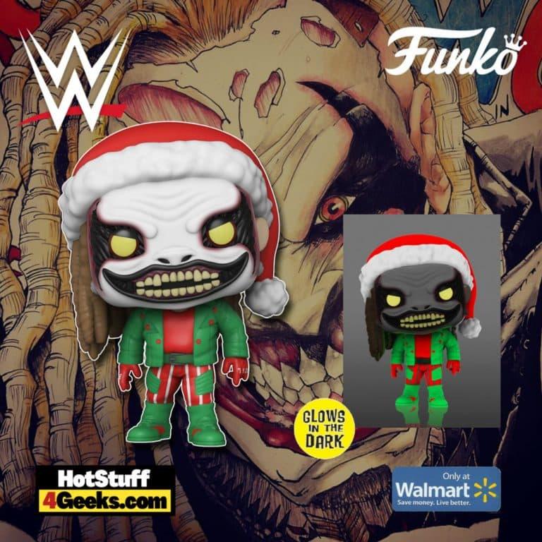 Funko Pop! WWE Holiday: The Fiend Glow-In-The-Dark Funko Pop! Vinyl Figure - Walmart Exclusive