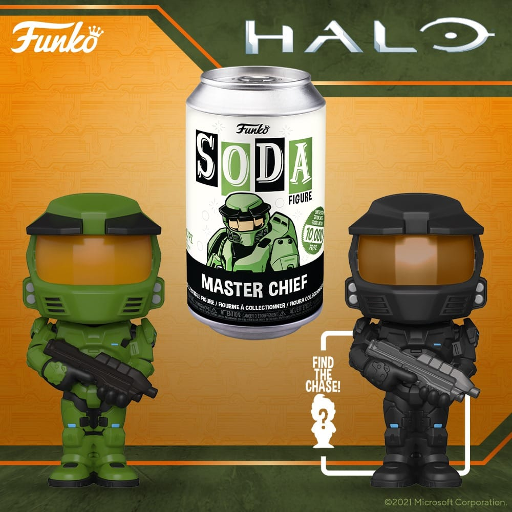 Funko Vinyl Soda Halo - Master Chief Funko Soda Vinyl Figure