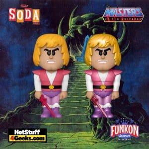 Funko Vinyl Soda: Masters of the Universe: Prince Adam Vinyl Soda Figure With Metallic Chase Virtual FunKon 2021 - GameStop Shared Exclusive