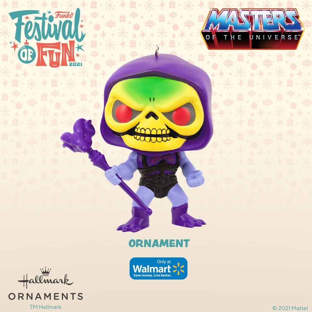 FunkoMasters of the Universe - Skeletor Christmas Hallmark ornament