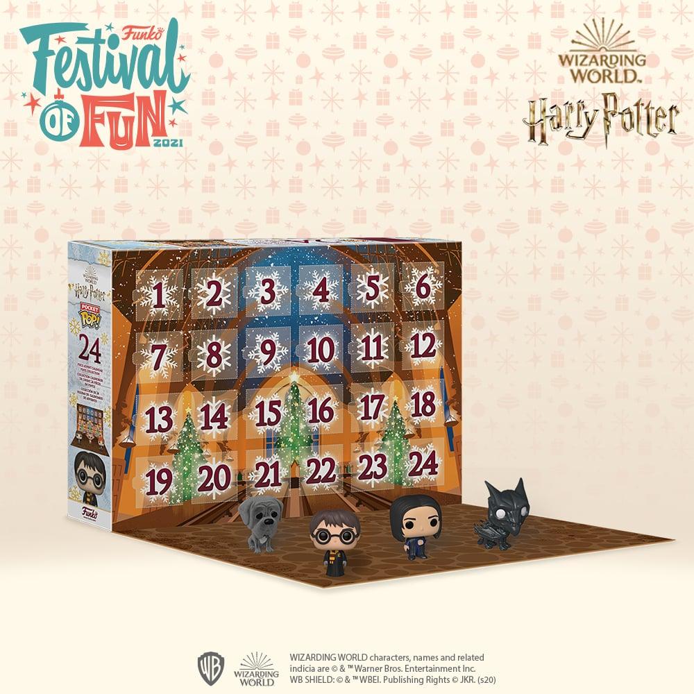 Harry Potter 2021 Funko Pocket Pop! Advent Calendar
