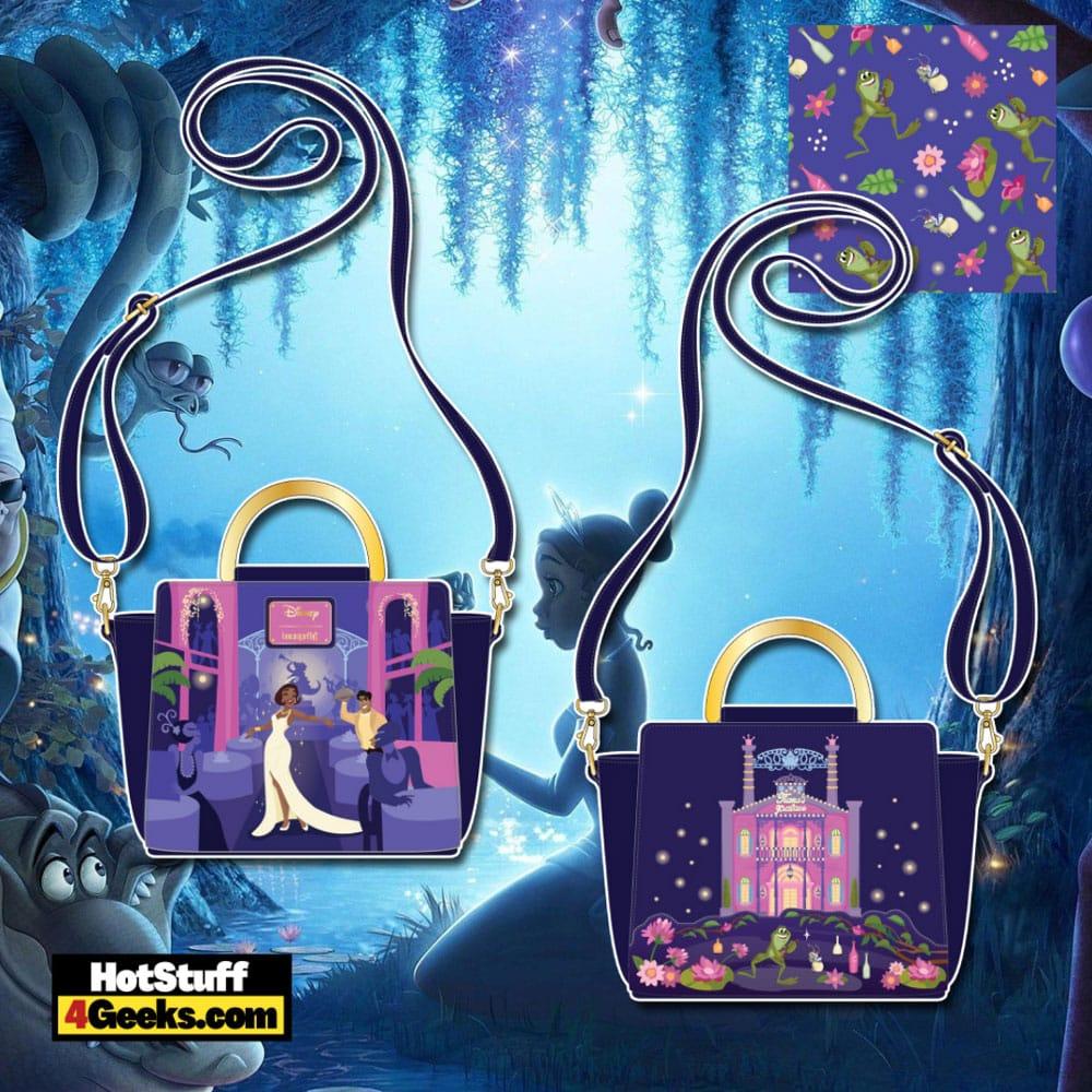 Loungefly Disney Princess And The Frog Tiana's Palace Crossbody Bag
