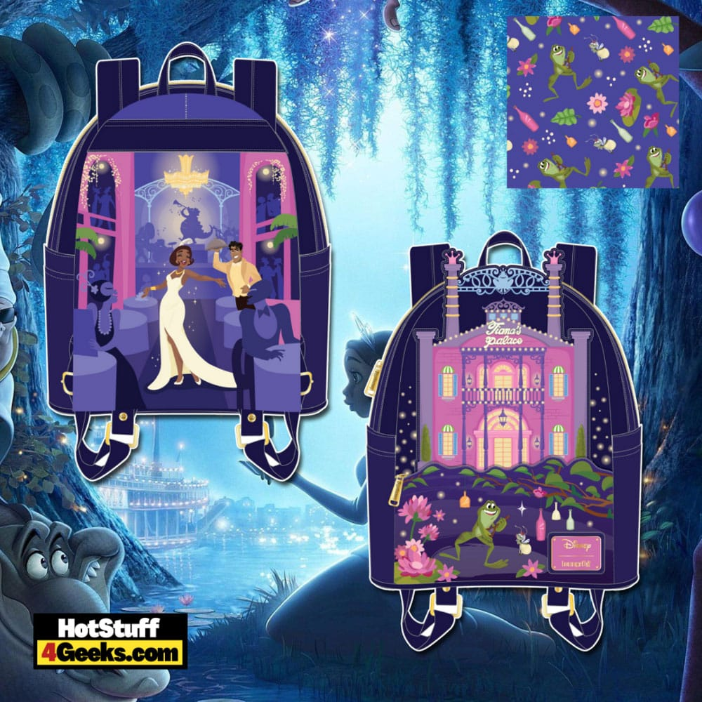 Loungefly Disney Princess And The Frog Tiana's Palace Mini Backpack