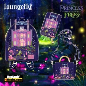 Loungefly Disney Princess And The Frog Tiana's Palace October 2021 Pre-Orders