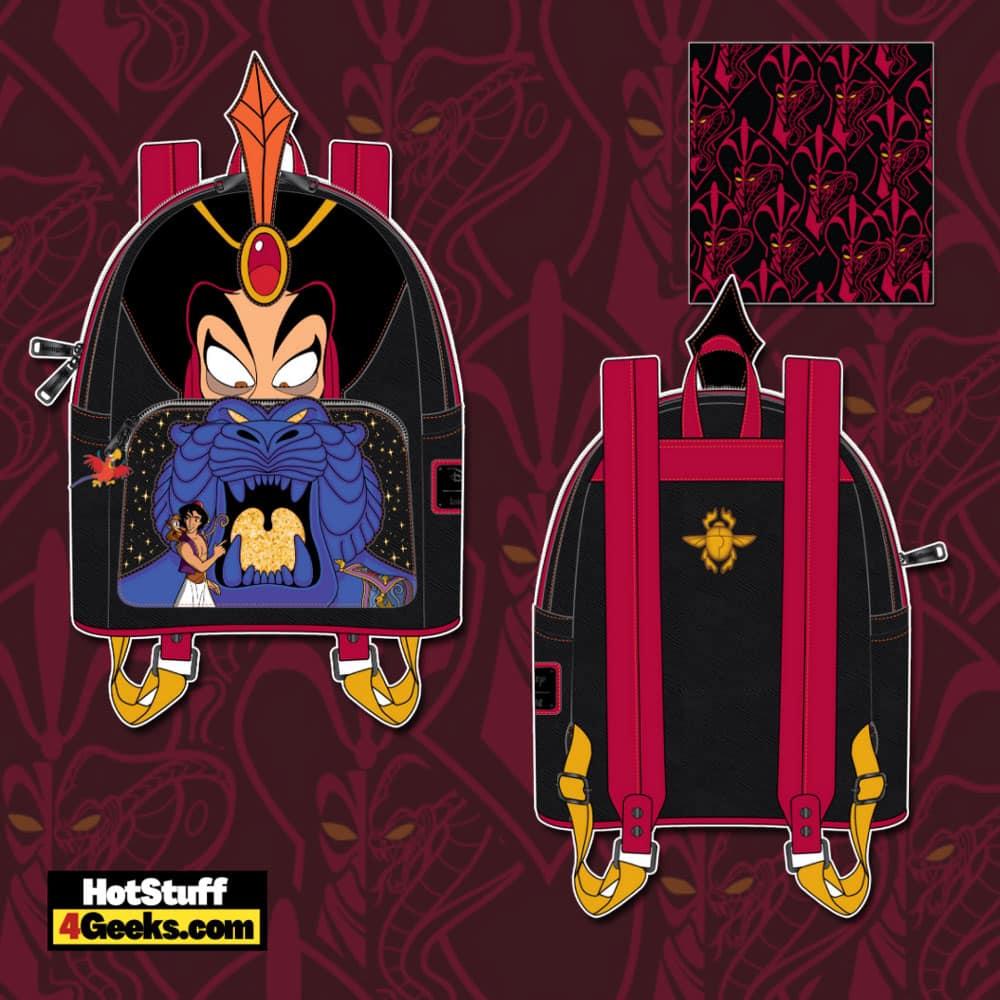 Loungefly Disney Villains Alladin Jafar Scene Mini Backpack