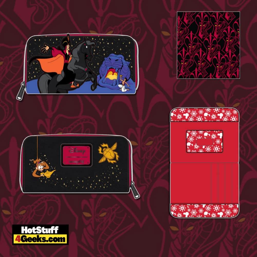 Loungefly Disney Villains Alladin Jafar Scene Wallet
