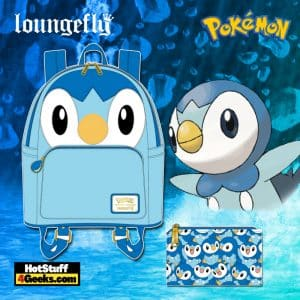 Loungefly Pokemon Piplup Cosplay October 2021 Pre-Orders (Mini Backpack and Wallet)
