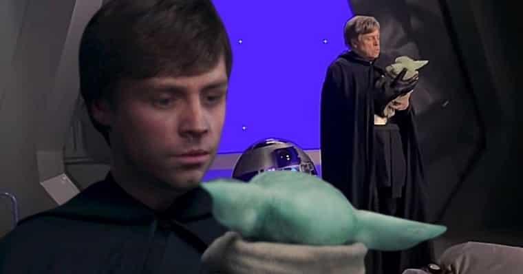 Mark Hamill As Luke Skywalker In Mandalorian Season 2