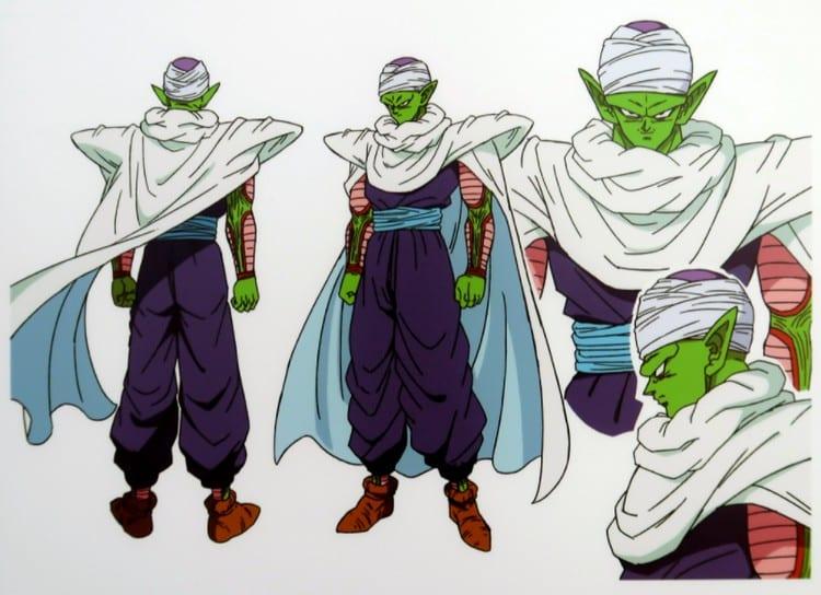 Piccolo's look in Dragon Ball Super