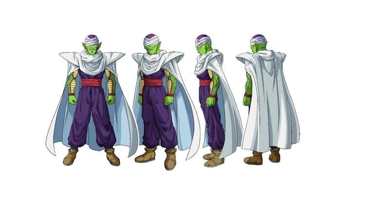Piccolo's new look in Dragon Ball Super: Super Hero