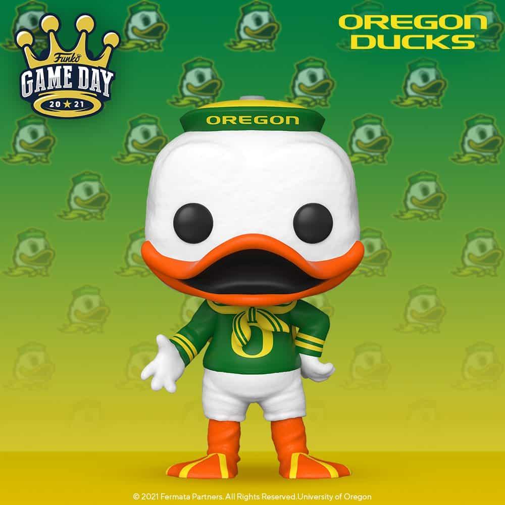 Funko Pop! College Universe of Oregon - The Oregon Duck Funko Pop! Vinyl Figure