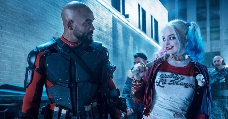 #ReleaseTheAyerCut Harley and Deadshot Photo Reveals Romance