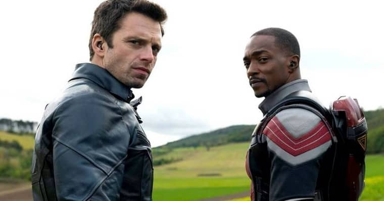 Sebastian Stan and Anthony Mackie in Falcon and the Winter Soldier