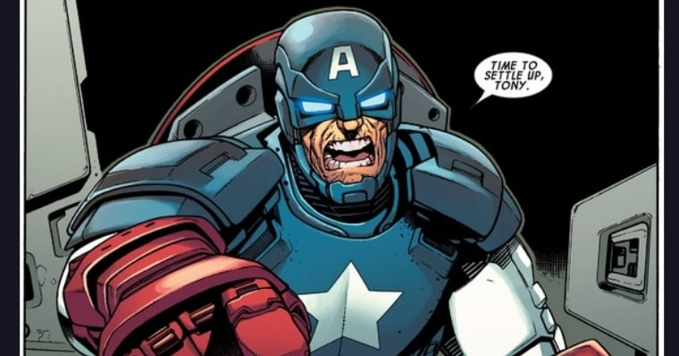 The Day Iron Man Was Killed By Captain America in The Comics
