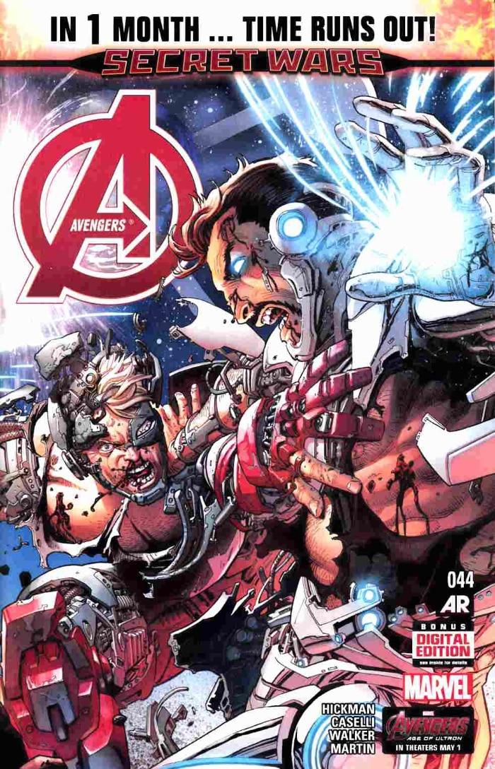 Avengers #44 Cover