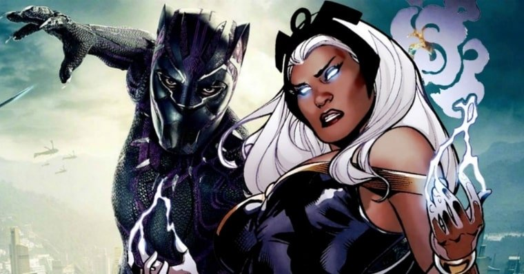 The True Story of Black Panther and Storm In The Comics