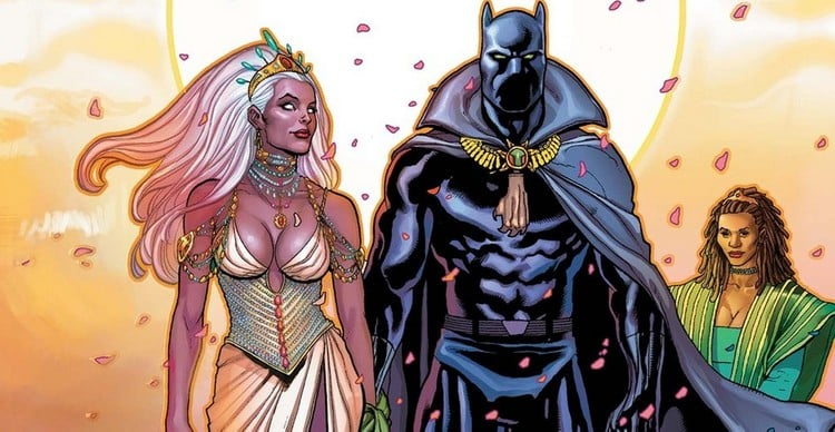 Black Panther and Storm's marriage stopped the Civil War for a while