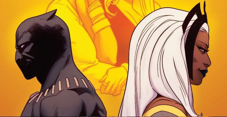 Black Panther and Storm: The Story of a Heroes' Marriage