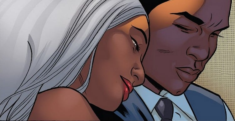 Between Black Panther and Storm: duty first