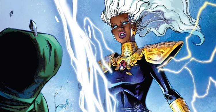 Ruler of the Solar System, Storm has achieved intergalactic status