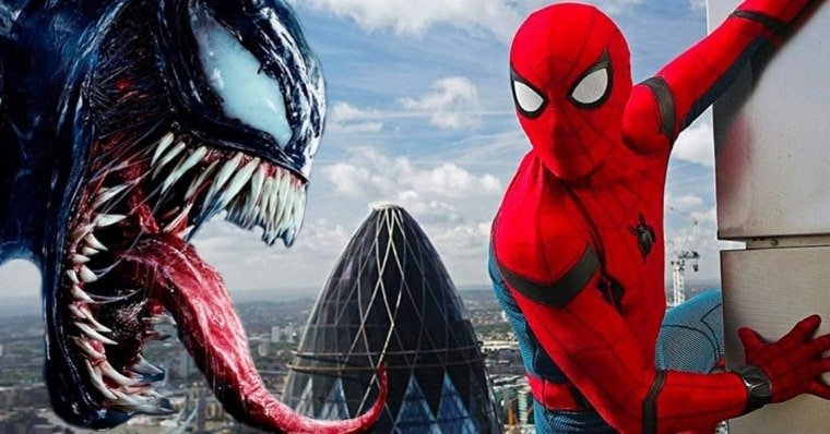 Venom 3 Tom Hardy Comments on a Venom Spider-Man Crossove
