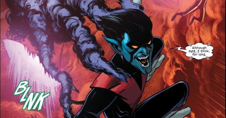 Nightcrawler in Way of X #1