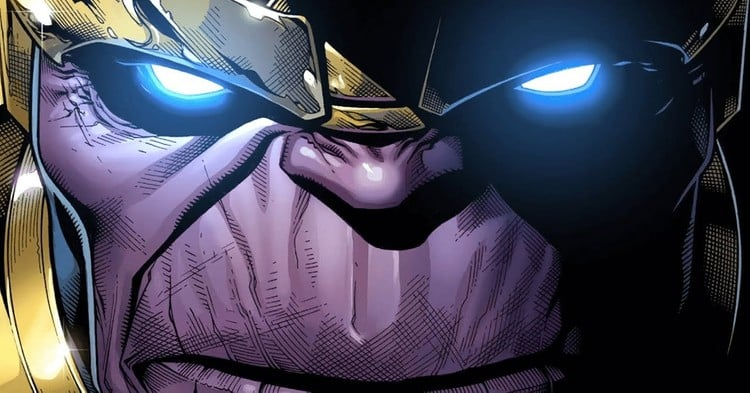 Thanos in the comics