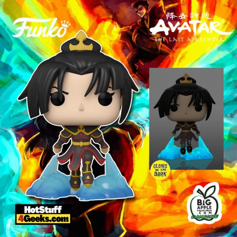 Funko Pop! Avatar: The Last Airbender - Azula (Agni Kai) with Glow-In-The-Dark Chase - Big Apple Collectibles Exclusive