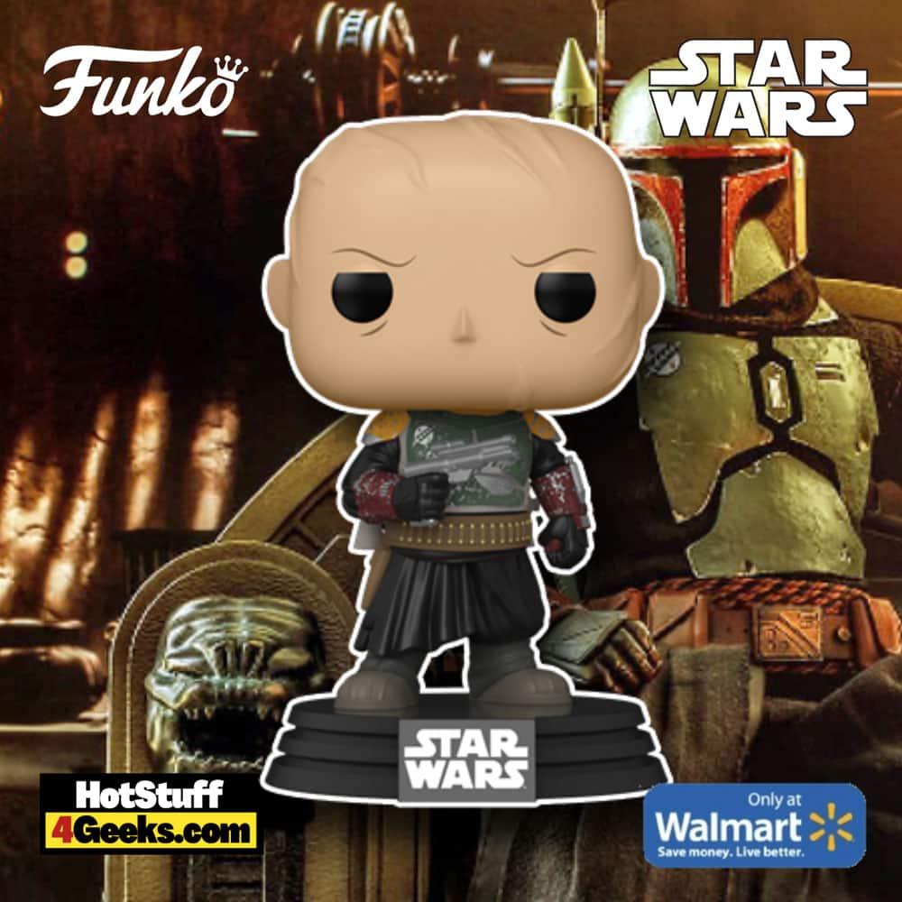 Funko Pop! Star Wars: Mandalorian - Boba Fett Without Helmet Funko Pop! Vinyl Figure - Walmart Exclusive