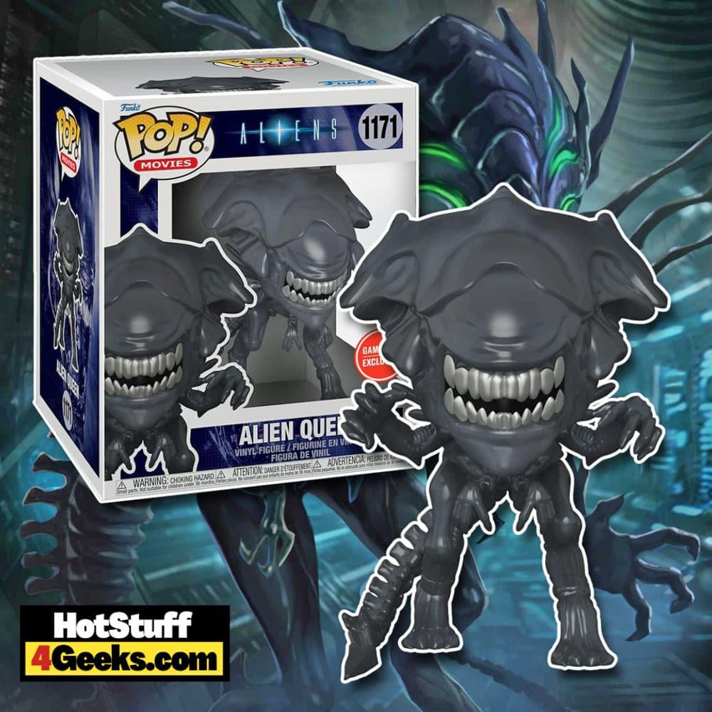 Funko POP! Movies: Aliens - Super Alien Queen 6-Inch Funko Pop! Vinyl Figure - GameStop Exclusive